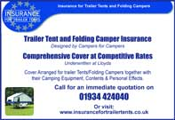 trailer tent and folding camper insurance