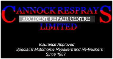 motorhome repairers and re-finishers