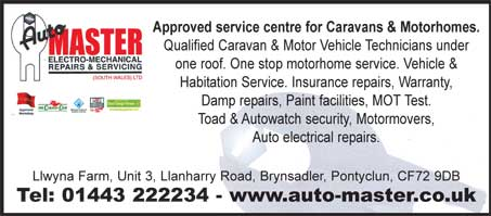 service centre for caravans and motorhomes